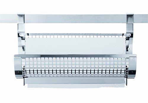 RÖSLE Papierrollenhalter, Edelstahl 18/10, Papierrollen bis 27 cm Breite und Ø 12 cm
