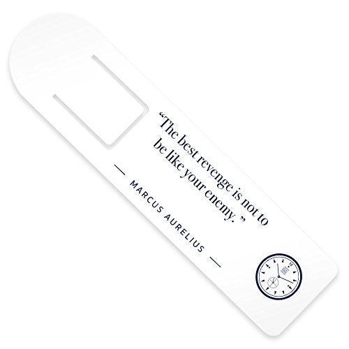 Stoic Time Marcus Aurelius The Best Revenge Quote Bookmark