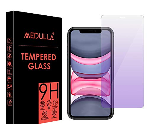 Medulla Anti Blue Ray (Vision Safe) Tempered Glass Screen Protector For Apple iPhone 11