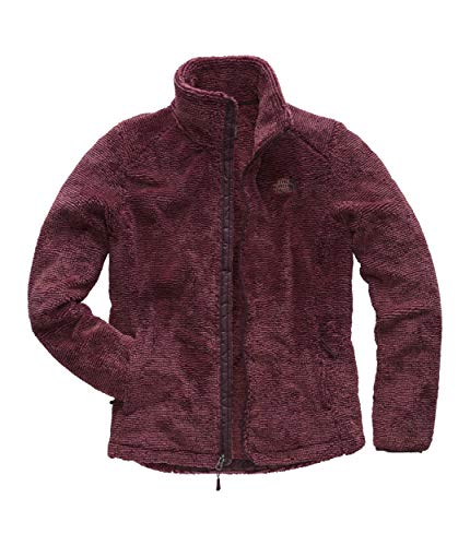 The North Face Women's Osito 2 Jacket (Past Season), Fig & Faded Rose Stripe, Small