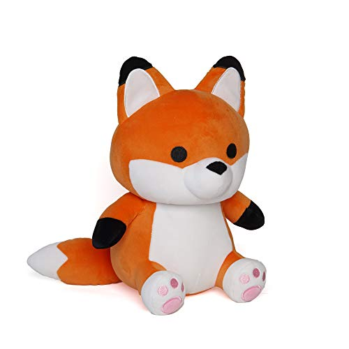 Avocatt Orange Red Fox Plush - 10 Inches Stuffed Animal Plushie - Hug and Cuddle with Squishy Soft Fabric and Stuffing - Cute Toy Gift for Boys and Girls