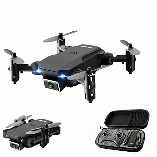 XIAOKEKE S66 Mini Drone with Camera 4K HD Camera Drone FPV Live Video and GPS Auto Return Compact RC Quadcopter for Beginners and Professionals, Long Flight 16 Minutes,Black