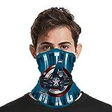 Av-engers - Pañuelo de cuello de enfriamiento para la cara y el cuello, transpirable, protección contra los rayos UV, bandanas para hombres y mujeres al aire libre