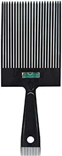 Scalpmaster Flat Top Comb with Level Flattopper with Sideburn Comb