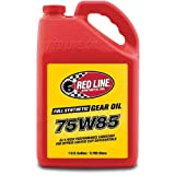 Red Line 50105 75W85 GL-5 Gear Oil, 1 Gallon, 1 Pack