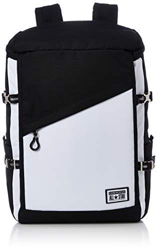 [コンバース] レインカバー付きスクエアディパック 70-32 リュック バックパック ブラックホワイト One Size