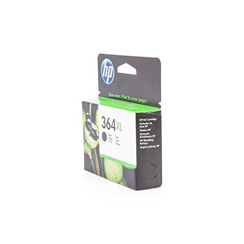 XL de tinta original para HP Photosmart 5525S All-in-One HP 364, 364x l, no364X L CN684EE–PREMIUM Impresora de tinta–Negro–550páginas–12ml