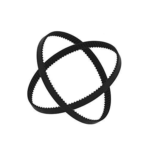 Aibecy GT2 Gesloten lus Timing Belt Rubber Synchrone Riemen W=6mm L=110/112/158/200/280/400/610/852/1220mm 3D Printer Onderdelen Set van 2 stuks