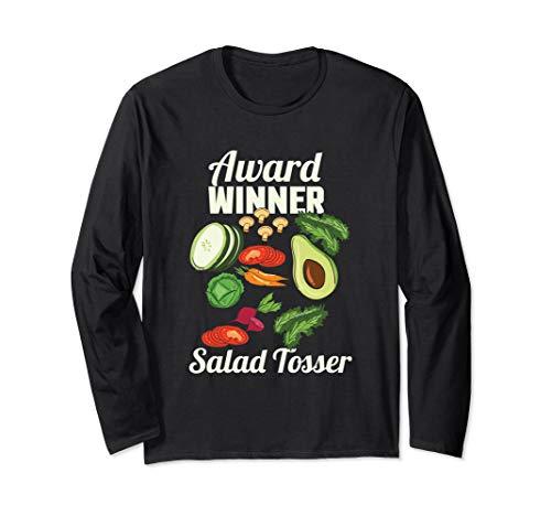 Salad Tosser, Ranch Salad Dressing Foodie Saucy Langarmshirt
