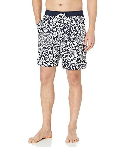 """Amazon Essentials Bañador de 9""""de secado rápido shorts, Black Vintage Floral, US XXL (EU XXXL-4XL)"""