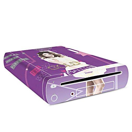 DeinDesign Skin kompatibel mit Nintendo Wii U Konsole Folie Sticker Violetta Disney Offizielles Lizenzprodukt