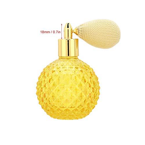 Botella de aerosol de perfume, tallar la botella de perfume vacía recargable del modelo, para la sala de estar de la decoración