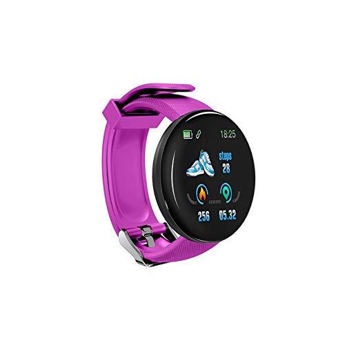 D18 sport-smartwatch, hartvorm, blood pressure activity-tracker, waterbestendig, bluetooth, smartwatch