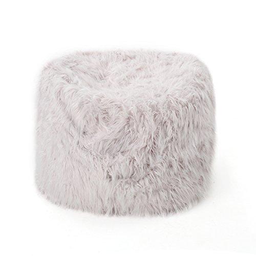 Lycus Faux Fur Bean Bag Chair (Lavender)