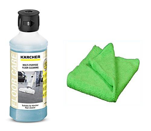 KÄRCHER original Universalreiniger 6.295-944.0 Reinigungsmittel für Hartbodenreiniger FC 5 inkl. professionellem Microfasertuch
