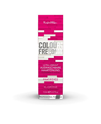 Colour-Freedom Ultra-Vibrant Pink Pizazz XL 150 ml auswaschbare Haartönung