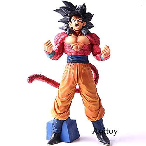 N / A Anime gigurine Dragon Ball GT Super Master Stars Stück Son Goku Super Saiyajin 4 Figur Aktion SSJ4 Son Gokou PVC Sammlermodell B ohne Verkaufsverpackung