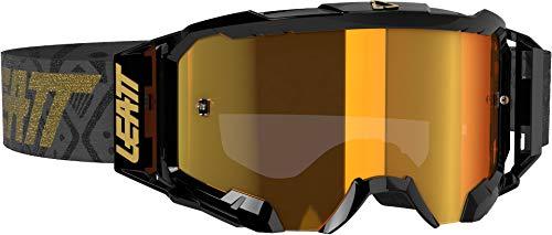 Leatt Crossbrille Velocity 5.5 IRIZ Schwarz