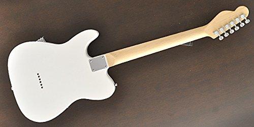 PLAYTECHエレキギターTL-250WHITEMapleテレキャスタータイプ