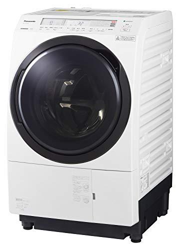 パナソニック ななめドラム洗濯乾燥機 11kg 左開き 液体洗剤・柔軟剤 自動投入 クリスタルホワイト NA-VX800BL-W