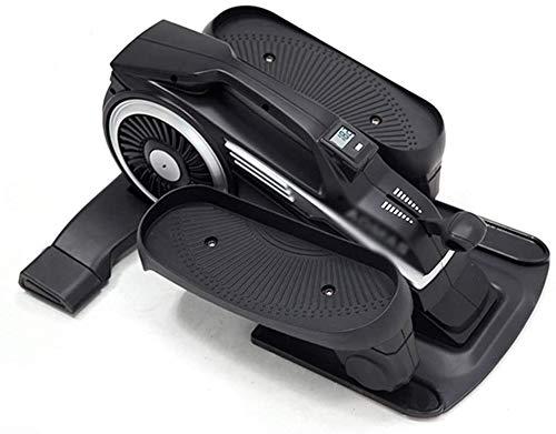 LBWARMB Máquinas de Step Steppers de Hogares de Ejercicio físico Bicicleta elíptica silenciosa del Pedal de la máquina de 8 velocidades magnética Resistencia de Control
