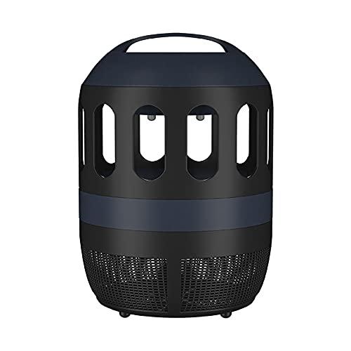Lámpara antimosquitos eléctrica con luz ultravioleta, trampa para insectos, ventilador de extracción de 360 grados, eficaz para reducir insectos voladores para interior de dormitorio y cocina