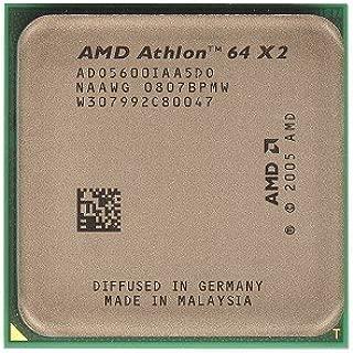 AMD Athlon 64 X2 5600+ Brisbane 2.9GHz 2 x 512KB L2 Cache Socket AM2 65W Dual-Core Processor