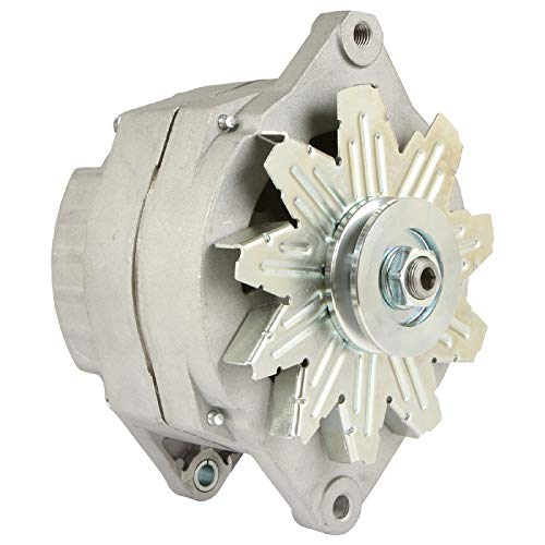 DB Electrical ADR0435 Alternator Compatible with/Replacement for Military Blazer/Delco 10459234 1105500 321-744 7847/12 Volt External Fan 100 Amp 12 Volt