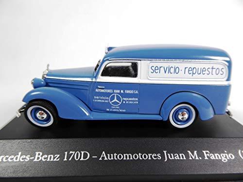 OPO 10 - Mercedes-Benz 170D Automotors Juan Manuel Fangio 1954 Collection Van 1/43 (SA21)