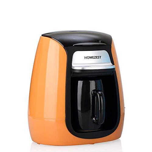 Wlylyhjy Vollautomatische Tragbare Kaffeemaschine, Eieruhr Mini Einzel Cup Kaffeekanne Tee-Maschine Herstellt Geschenk Kaffee-Maschine
