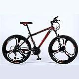 Adulte VTT, Plage Motoneige Vélo, Double Frein à Disque Vélos, 26 Pouces en Alliage d'aluminium,...