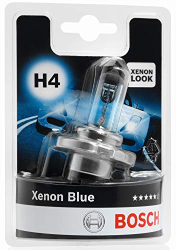 Lámpara Bosch para faros: Xenon Blue H4 12V 60/55W P43t (Lámpara x1)