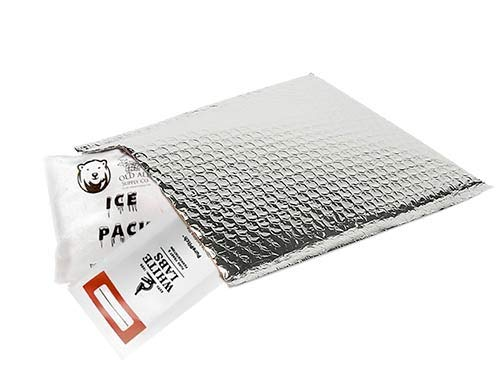 White Labs Hefeweizen Ale WLP300 With Cold Pack and Heat Shield