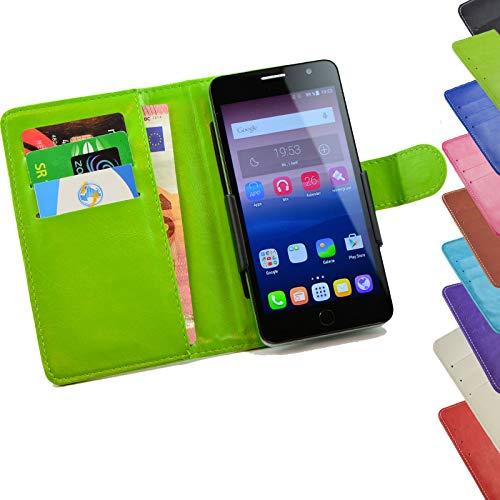 ikracase Tasche für Medion Life P5006 Hülle Cover Hülle Etui Handy-Tasche Schutz-Hülle in Grün