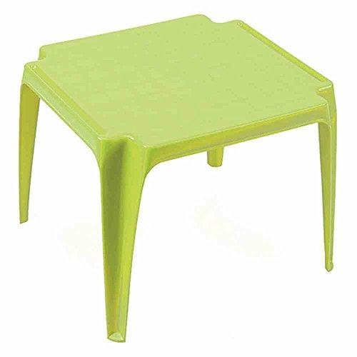 Progarden Tavolo Kindertisch, Kunststoff, Lime, 56 x 52 x 44 cm, 436031