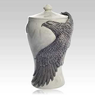 Memorials.com Soaring Eagle Cremation Urn