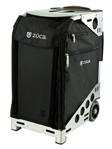 ZUCA Pro Artist Case - Black Bag and Silver Frame, with 5 Vinyl Utility