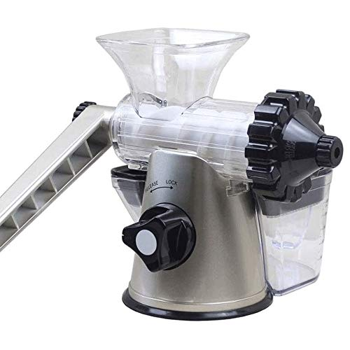 Bdesign Manual Juicer, Hand Slag Juice Separation, Raw Juice Machine, Pomegranate, Ginger Juice, Carrot, Chewing and Cold Pressing