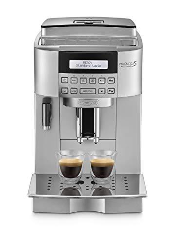 DeLonghi ECAM 22.360.S automatyczny ekspres do kawy (1,8 litra, 15 bar, 1450 W, pojemnik na mleko), srebrny