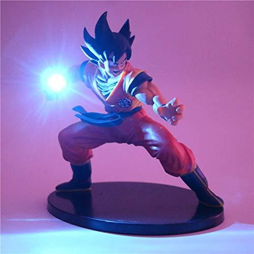 Dragon Ball Z Son Goku Figuras de acción Lámpara Led Modelo de Anime DIY Lámpara de...