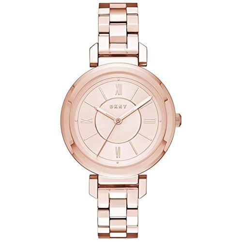 DKNY Reloj Analogico para Mujer de Cuarzo con Correa en Acero Inoxidable NY2584