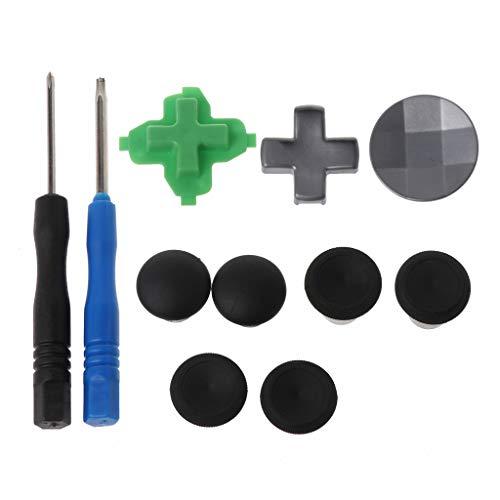 NIANNIAN Joystick Swap Thumb Analog Sticks Griffe Stick D-Pad Stoßstange Trigger Button Ersatzteile Für Xbox One Elite Controller
