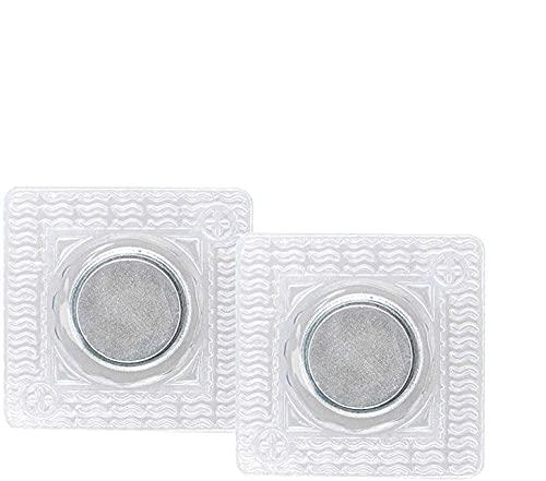 20 paires de boutons-pression magnétiques à coudre cachés, à coudre invisible invisible en PVC Fermeture de sac à main cachée