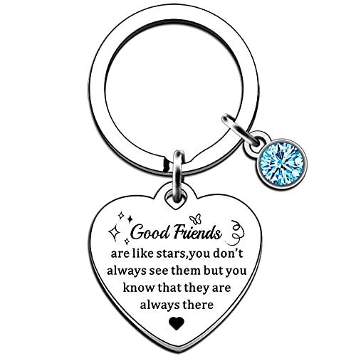 AMZQ Friend Gifts for Women Girls- Good Friends are Like Stars Friendship...