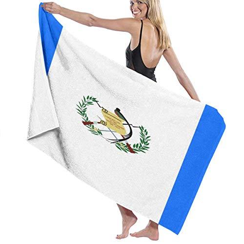 Wearibear Handtuch mit Guatemala-Flagge, schnelltrocknend, Duschtuch, Strandtuch, superweich, Mehrzweck, waschbar, Mikrofaser, Badetücher für Damen, Herren, Kinder, Mädchen, Jungen
