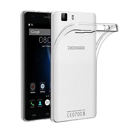 AICEK Doogee X5/ X5S/ X5 Pro Hülle, Transparent Silikon Schutzhülle für Doogee X5/ X5S/ X5 Pro Case Crystal Clear Durchsichtige TPU Bumper Doogee X5/ X5S/ X5 Pro Handyhülle