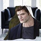 Junip Edward Cullen The Twillight Saga Blanket Robert-Pattinson Ultra-Soft Micro Fleece Blanket Lightweight Cozy Flannel Throw Blanket for Children/Adults Decor Gift