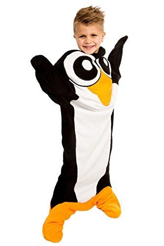 Fin Fun Wild Things Polar Penguin Climb-in Blanket
