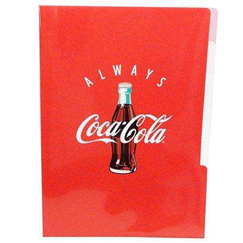 コカコーラ[ファイル]5インデックスA4クリアファイル/RED カミオジャパン 文具 キャラクター グッズ 通販