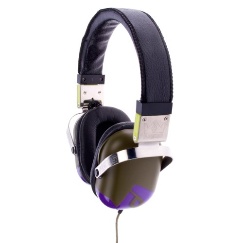 Frends Kopfhörer Classic Headphones Ammo Green/Grape